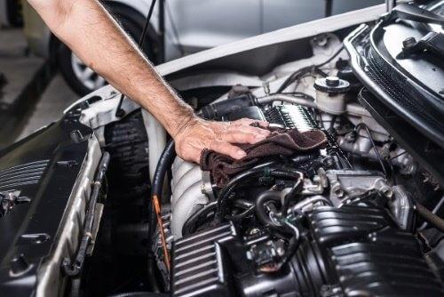 Engine detailing services Birmingham
